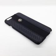 AR-HCIP6-4C/D5-BK [iPhone 6/6s 4.7インチ専用 Alfa Romeo(アルファ ロメオ) 公式ライセンス ソフトレザーハードケース ブラック]