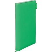 1911FR 緑 [ファブル カードホルダー 名刺ファイル 1列3段 120ポケット]