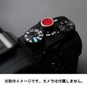 LS-SB3RD [本革デジタルカメラレリーズソフトボタン 12mm レッド 貼付タイプ]
