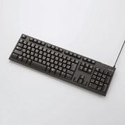GM-TKFCM062BK [PS4専用 メンブレン式キーボード 108キー USB Lサイズ 1000万回高耐久 ブラック]