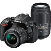 D5500 ダブルズームキット ブラック [ボディ+交換レンズ「AF-S DX NIKKOR 18-55mm f/3.5-5.6G VR II」+「AF-S DX NIKKOR 55-300mm f/4.5-5.6G ED VR」]