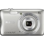 COOLPIX(クールピクス) S3700 S [コンパクトデジタルカメラ シルバー]