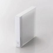 CCD-FB12CR [CD/DVD/Blu-ray対応ファイルケース 12枚収納 クリア]