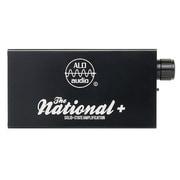 THE NATIONAL+/BLK [ポータブルヘッドホンアンプ ブラック]