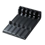 PDA-STN10BK [スマートフォン・タブレット用スタンド 5台収納タイプ]