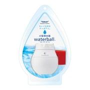 WB600B-R [小型浄水器 waterball(ウォーターボール) カートリッジタイプ 丸型蛇口(16mm)対応 泡沫水栓(外ネジ式・内ネジ式)対応 ホワイト/レッド]