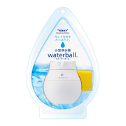 WB600B-Y [小型浄水器 waterball(ウォーターボール) カートリッジタイプ 丸型蛇口(16mm)対応 泡沫水栓(外ネジ式・内ネジ式)対応 ホワイト/イエロー]