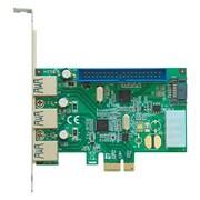 SATA+ATA+USB3.0-PCIE [SATA2&IDE&USB3.0対応コンボカード]