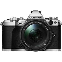 OLYMPUS OM-D E-M5 Mark II レンズキット シルバー [ボディ シルバー+ズームレンズ「M.ZUIKO DIGITAL ED 14-150mm F4.0-5.6 II」]
