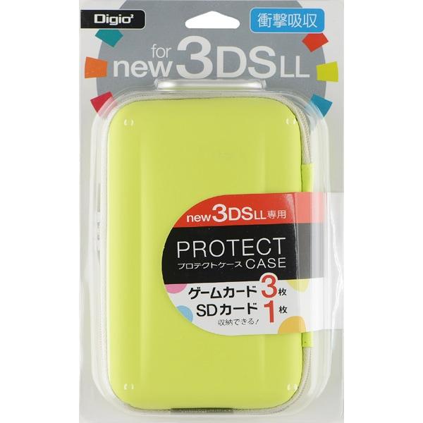 SZC-3DSLL1401LY [Newニンテンドー3DSLL用 プロテクトケース ライムイエロー]