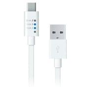 RK-ADC11W [Micro USB 充電&同期用 パワーメーター 1m フラットタイプ ホワイト]