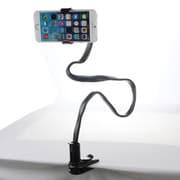 STND13901 [フレキシブル クリップスタンド iPhone/スマートフォン用 ブラック]