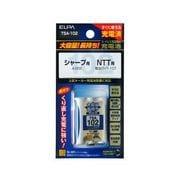 TSA-102 [電話機用ニッケル水素充電池 大容量タイプ 3.6V 800mAh]