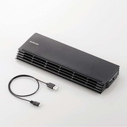 SX-CL20BK [ノートPC用クーラー 薄型コンパクトタイプ 12.1~17インチ対応 ブラック]