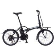 HUMMER AL-FDB207E BK [電動アシスト自転車 20型 外装7段変速 ブラック]