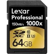 LSD64GCRBJP1000 [SDXCカード Lexar Professional 1000x UHS-II 64GB]