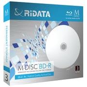 M-BD25GB.PW 3P [M-DISC BD-R 25GB インクジェットプリンター対応ホワイトレーベル 3枚]