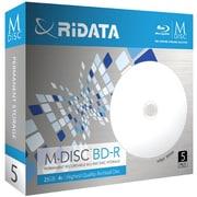 M-BD25GB.PW 5P [M-DISC BD-R 25GB インクジェットプリンター対応ホワイトレーベル 5枚]