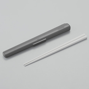 B004915-MTBK [保温弁当箱 DBQ-360/500 DBQ-362/502用 箸・箸ケースセット マットブラック]