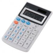 KCL-100-W [税率切り替え ハンディ電卓 12桁 ホワイト]