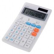 KCL-300-W [税率切り替え 中型電卓 12桁 ホワイト]
