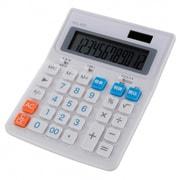 KCL-400-W [税率切り替え 大型電卓 12桁 ホワイト]