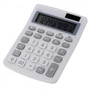 KCL-210-W [カラー 小型電卓 12桁 ホワイト]
