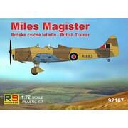 RSM92167 マイルズ マジスター イギリス空軍、ドイツ空軍、トルコ空軍 [1/72スケール プラモデル]