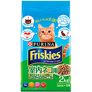 フリスキードライ 室内ネコ用 2kg [キャットフード]