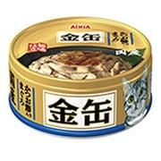 金缶ミニ かつお節入りまぐろ 70g [キャットフード]