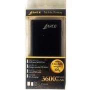 HLAU-360MMC-BK [モバイルバッテリー AC3600mAh ブラック]