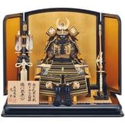 五月人形 徳川家康黒糸鎧飾り 5号 [B-266]