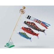 雅 #12ST [鯉のぼり ベランダ用 雲龍吹流し付 撥水加工 スタンドセット(水袋付 撥水加工)]