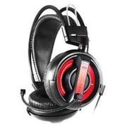 EHS013RE HEADSET 黒/赤 [ゲーミングヘッドセット レッド]