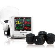 P1P+TPMS700 [無線タイヤ空気圧モニタリングシステム+ドライブレコーダー ホワイト]