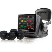 P2P+TPMS700 [無線タイヤ空気圧モニタリングシステム+ドライブレコーダー ブラック]