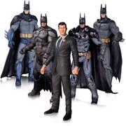「バットマン:アーカム・ナイト」 バットマン&ブルース・ウェイン(5パック) [6インチDC アクションフィギュア ボックスセット]