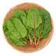 有機農法で作ったスイスチャードと旬の野菜の詰め合わせ(1.4kg) 5回分回数券 [茨城県産 有機スイスチャード3,980円セット]