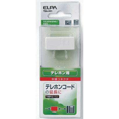 TEA-001 [TEL用中継コネクタ 6極2/4芯タイプ]