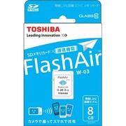 SD-WE008G [無線LAN搭載 メモリーカード FlashAir W-03 8GB]
