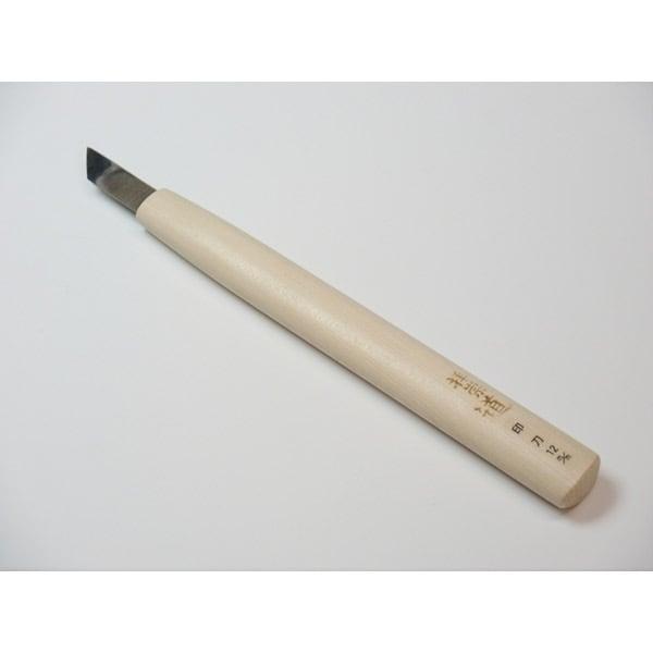 ハイス彫刻刀 印刀 12.0mm [柄の長さ180mm]