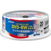 VD-W120Q20W [録画用DVD-RW 書換型 1-2倍速 20枚 ホワイトレーベル インクジェットプリンター対応]