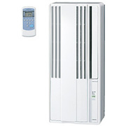 CW-1615(WS) [ウインドエアコン 冷房専用タイプ 50Hz:4~6畳/60Hz:4.5~7畳 シェルホワイト]