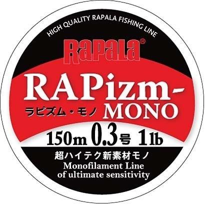 RPZM150M03CL [ラピズム・モノ 150m 0.3号 1lb クリア]