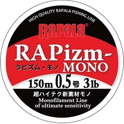 RPZM150M05CL [ラピズム・モノ 150m 0.5号 3lb クリア]
