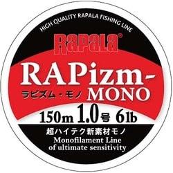 RPZM150M10CL [ラピズム・モノ 150m 1.0号 6lb クリア]