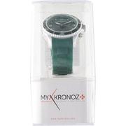 KRZECLOCK-GREEN [アナログ時計型スマートウォッチ ZeClock(ゼクノック) グリーン]
