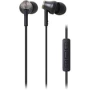 ATH-CK330i BK [iPod/iPhone/iPad専用インナーイヤーヘッドホン ブラック]
