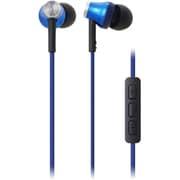 ATH-CK330i BL [iPod/iPhone/iPad専用インナーイヤーヘッドホン ブルー]
