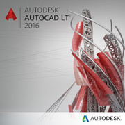AutoCAD LT 2016 SLM NEW+MSB [CADソフト]